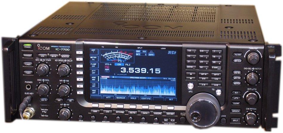 IC-7700の全体図