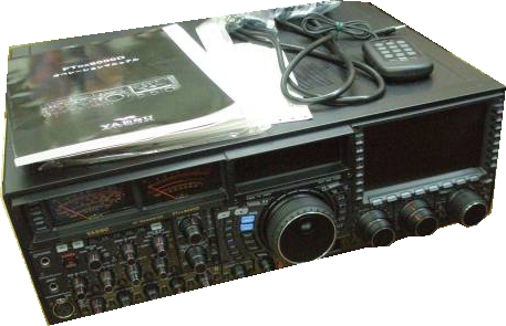 FTDX9000の全体図
